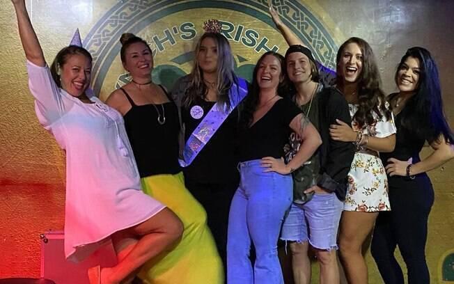 Evento em que Erika estava ocorreu em um bar na cidade de Jacksonville, no estado norte-americano da Flórida
