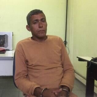 Ademir Francisco Domingues durante entrevista no CDP 1 de Guarulhos