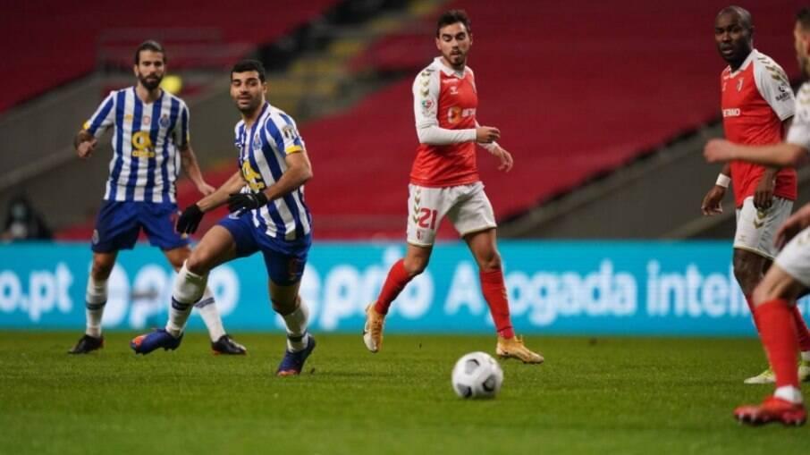 Braga e Porto empatam no primeiro jogo da semifinal da Taça de Portugal