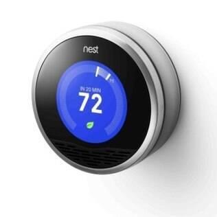 Termostato Nest promete economizar até 30% de energia
