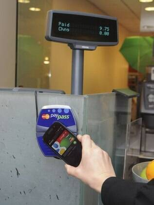 Google Wallet permite pagamentos por meio de celular