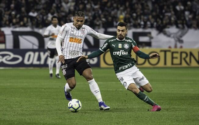 Corinthians parabenizou Palmeiras