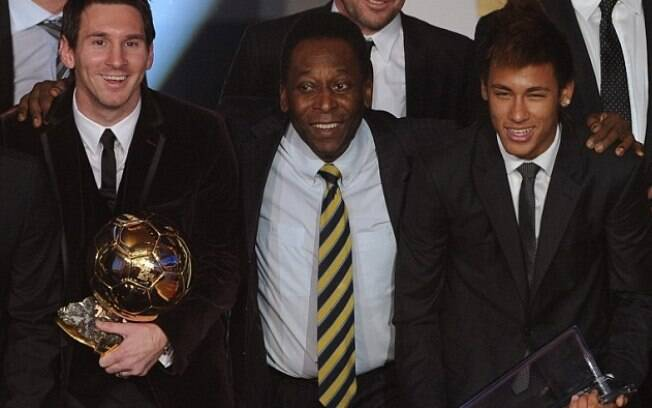 Messi, Pelé e Neymar