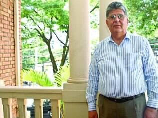 Ghassan Nseir - Embaixador da Síria no Brasil em passagem pela capital mineira