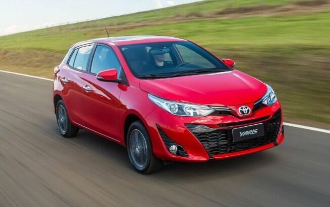Toyota Yaris Hatch: Preços de R$ 59.590 a R$ 77.590 para brigar com o VW Polo, que já vende 5,5 mil unidades/mês