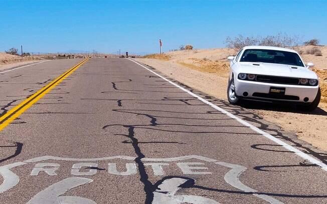 A Rota 66 é um dos roteiros mais visitados dos EUA e uma das estradas mais famosas do mundo, usada como cenário em diversos filmes e séries.