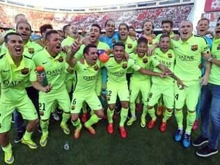 Time de Luis Enrique chegou ao seu 23º título nacional nesse domingo, após derrotar o Atlético de Madrid por 1 a 0, no Vicente Calderón
