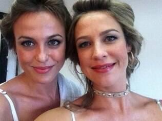 Camila Macedo e Luana Piovani em foto postada pela atriz no Twitter