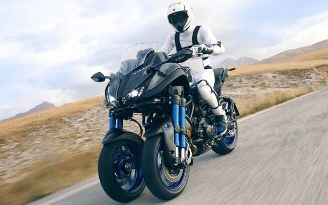 Yamaha Niken Concept: revolução que faz a três rodas futurista se destacar como motocicleta