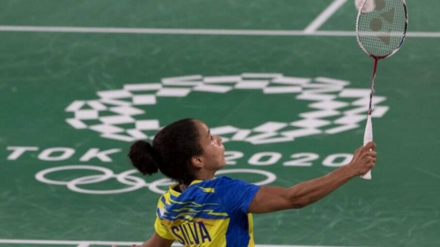 Fabiana Silva em ação nos Jogos