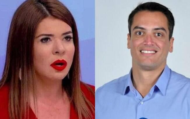 Leo Dias é suspenso após postar meme onde Mara Maravilha é representada por um demônio