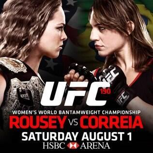 Ronda Rousey e Bethe Correia lutam no dia 1º de agosto no Rio