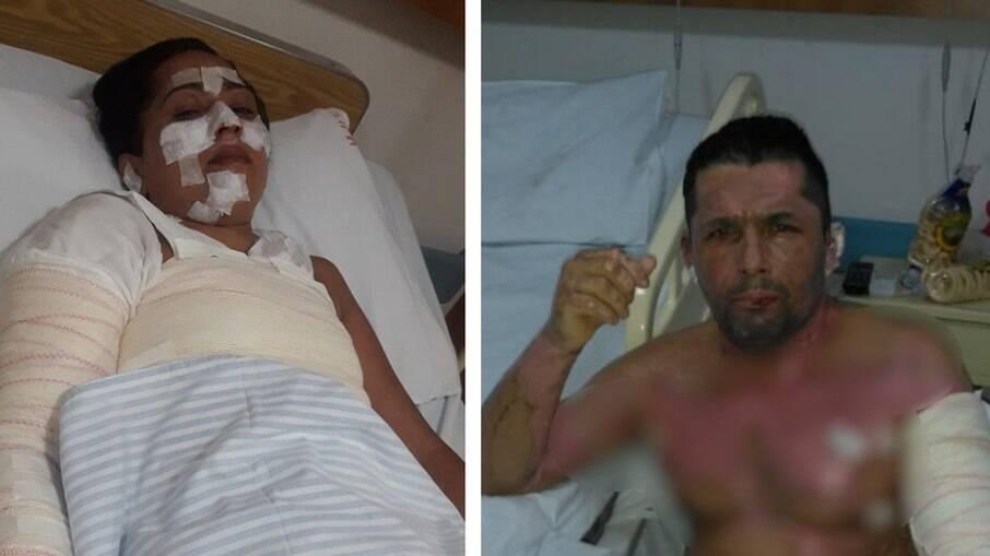 Em Goiás, uma família ficou gravemente ferida ao utilizar o álcool na cozinha