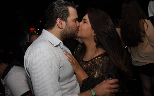 Fabiana Karla e o marido