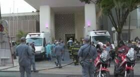 Incêndio no Hospital Pérola Byington é controlado