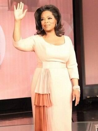 Oprah se despedindo de