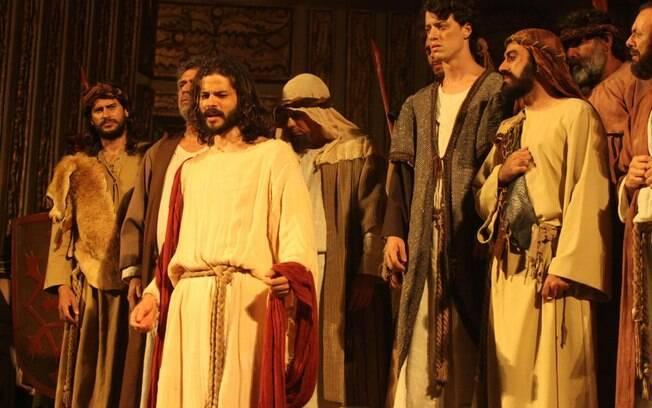 José Barbosa como Jesus em