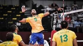Brasil perde para Rússia e está fora da final no vôlei masculino