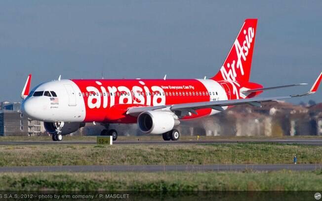 Dois aviões fazem buscas aos Airbus 320 da AirAsia. Foto: Divulgação