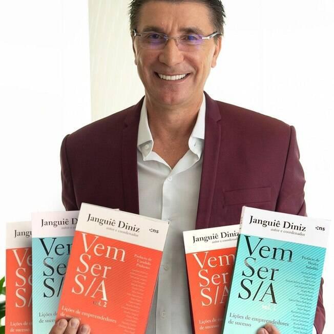 Empresário Janguiê Diniz lança livro com grandes empreendedores nacionais