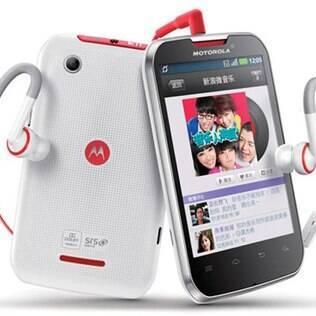 Novo smartphone da Motorola é lançado na China