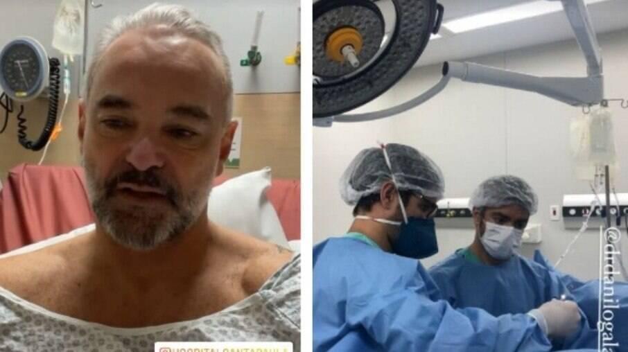 Mateus Carrieri é operado