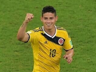 Craque colombiano é o artilheiro da Copa com cinco gols em quatro jogos
