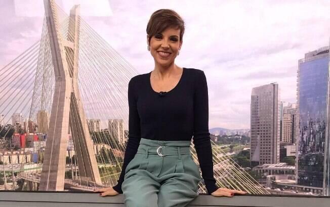 Gloria Vanique leva bronca de Rodrigo Bocardi ao vivo