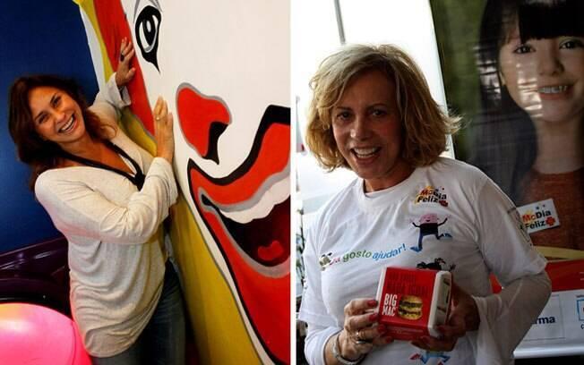 Fafá de Belém e Arlete Salles: veteranas também apoiaram a campanha