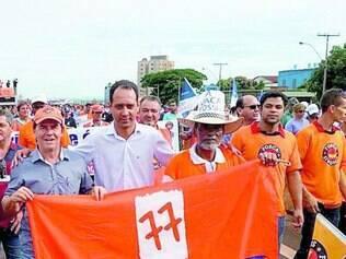 Pressão.  Deputado Paulinho da Força (primeiro à esquerda) diz que tentará barrar MPs na Câmara