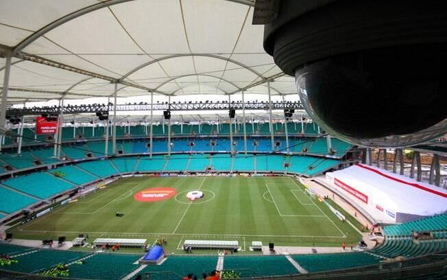 Arena Fonte Nova terá capacidade para 50 mil torcedores sentados