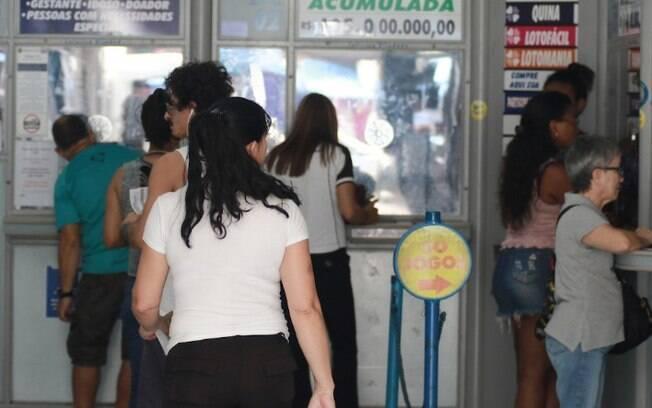 Mega-Sena sorteia nesta quarta prêmio de R$ 22 milhões