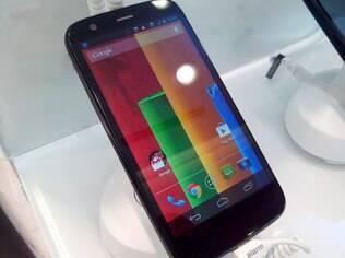 Moto G, com Android: Sistema do Google é líder no Brasil