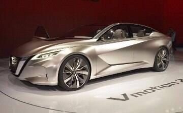Nissan Vmotion 2.0 antecipa como serão as linhas do novo sedã Sentra