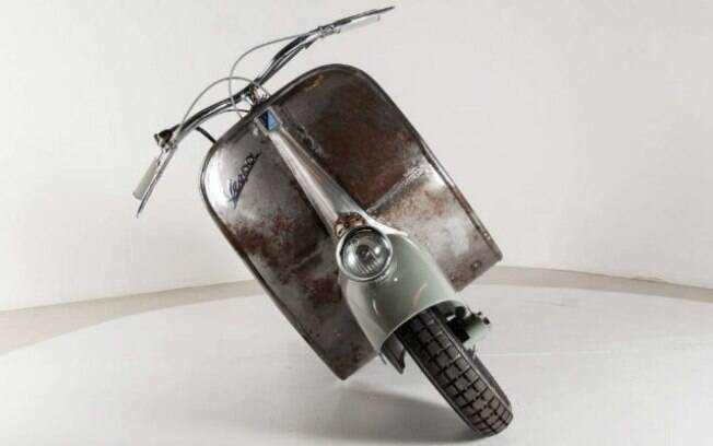 Vespa mais antiga que se tem notícia, fabricada em 1940