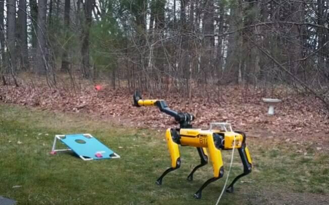 Cachorro robô pode ser enviado para Marte
