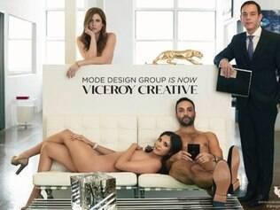 Executivos posam nus em campanha de agência de marketing em NY