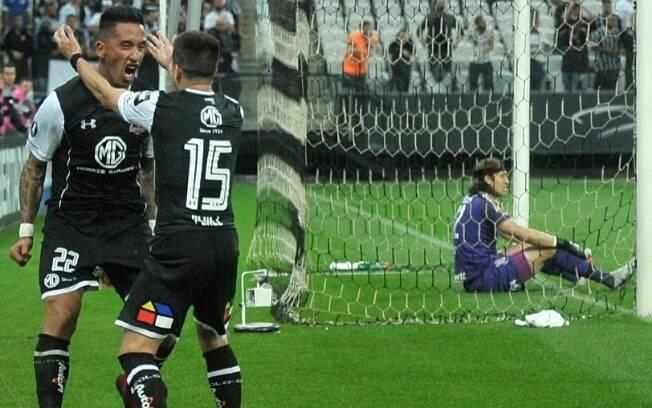 Ex-Grêmio e Palmeiras, Barrios fez o gol que eliminou o Corinthians da Libertadores