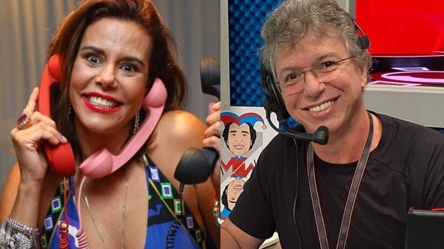 Narcisa Tamborindeguy e o diretor do BBB, Boninho, foram casados por três anos e tiveram uma filha juntos