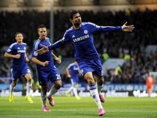 Diego Costa marcou um dos gols da vitória dos Blues sobre o Burnley