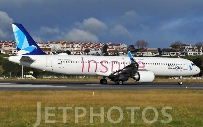 Azores Airlines realiza o voo comercial mais longo do mundo do modelo A321neo LR
