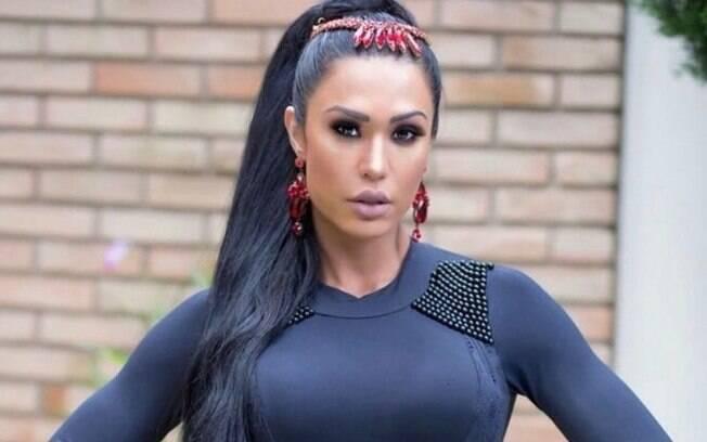Musa fitness Gracyanne Barbosa