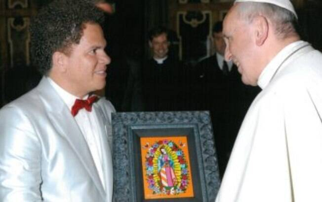Romero Britto e Papa Francisco