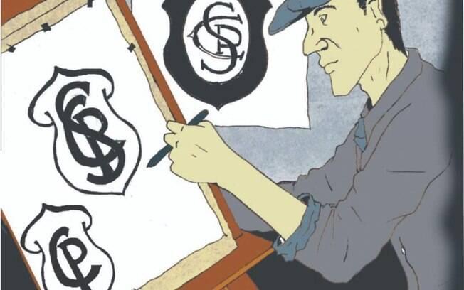 Historiador descobre novo escudo do Corinthians