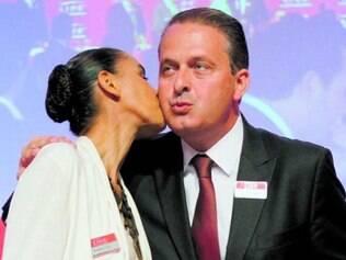 Campos e sua vice, Marina Silva, tiveram várias agendas em SP
