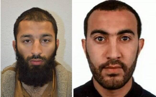 Terroristas de Londres: o britânico Khuram Butt e o marroquino Rachid Redouane  foram mortos durante troca de tiros