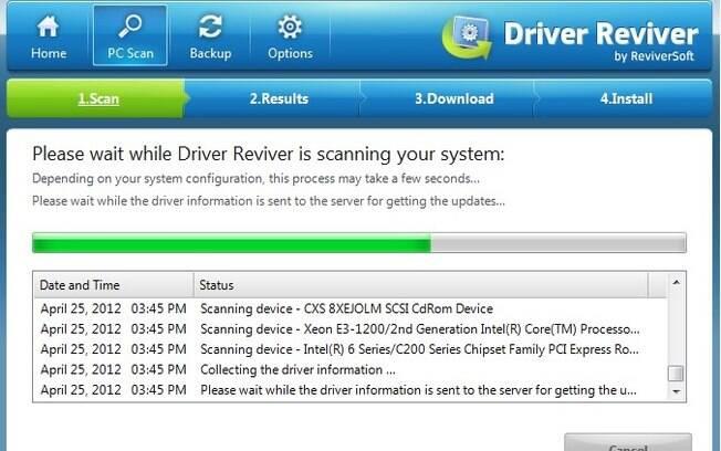 Driver Reviver tem cerca de 10 milhões de drivers