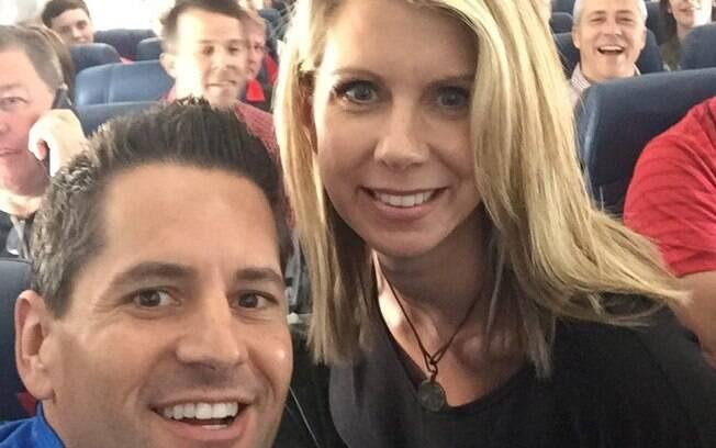 Tracy Jarvis Smith estava indo encontrar o marido em South Bend quando deixou avião por overbooking