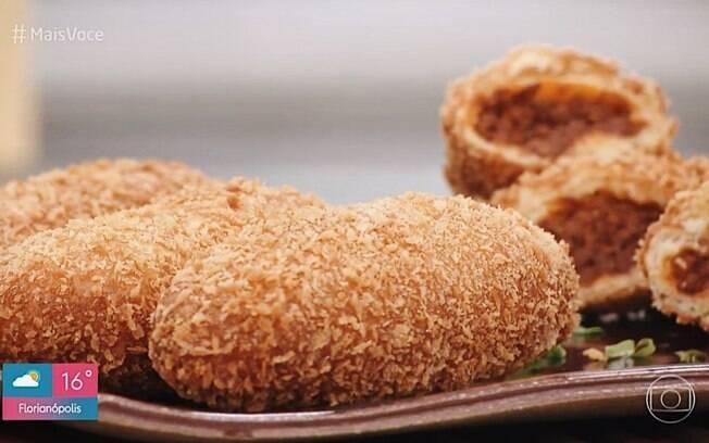 Para celebrar o Dia Mundial do Pão, Ana Maria Braga ensinou receita de Kare-Pan
