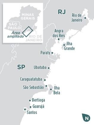 Confira as principais cidades da rota